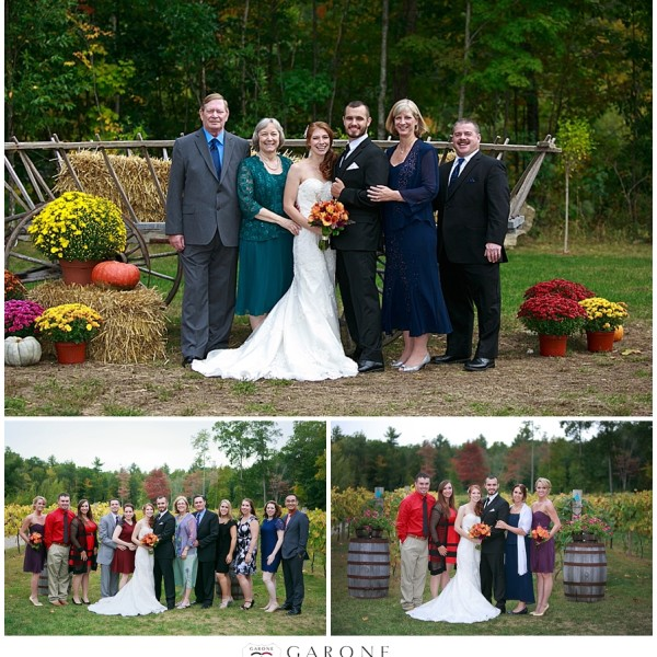 Kassie + Adam - Zorviono Vineyard Wedding - New Hampshire Wedding Photographer