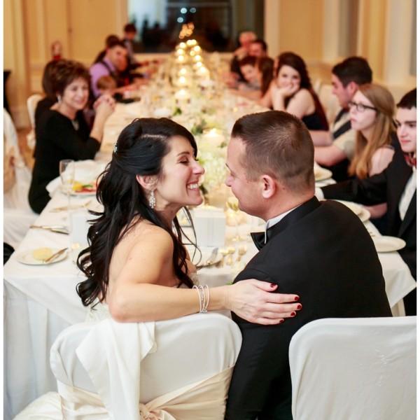 Dianne + Mark - Omni Mount Washington Resort - Winter Wedding
